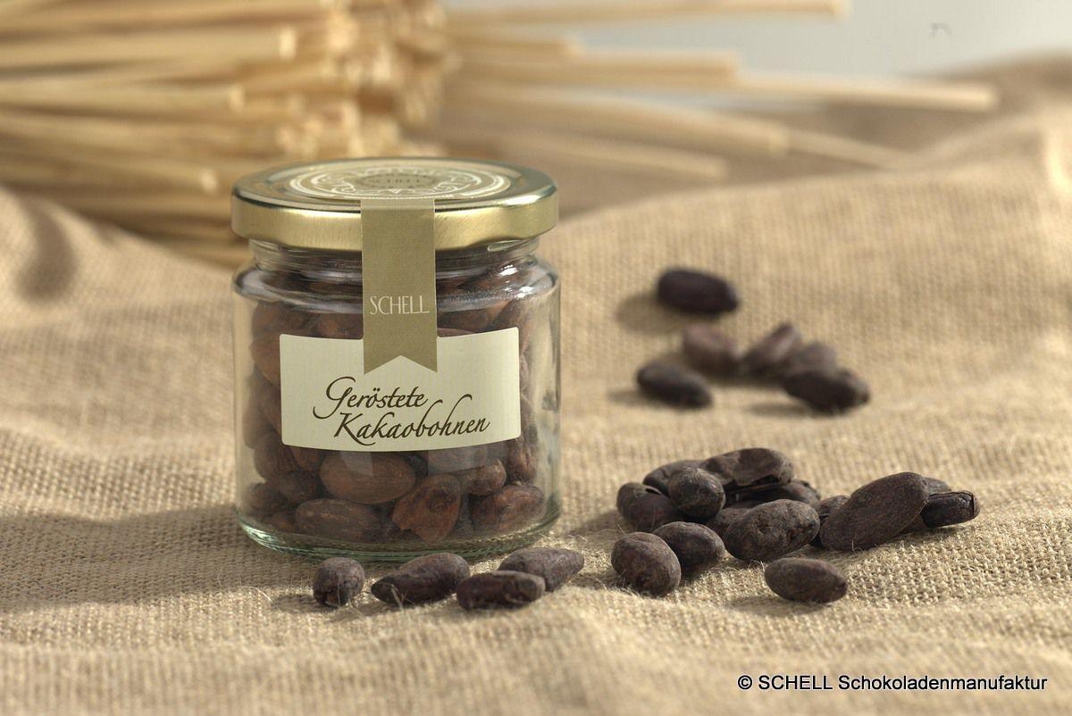 Ein kakaoiges Knabbervergnügen: geröstete Kakaobohnen aus der SCHELL Schokoladenmanufaktur
