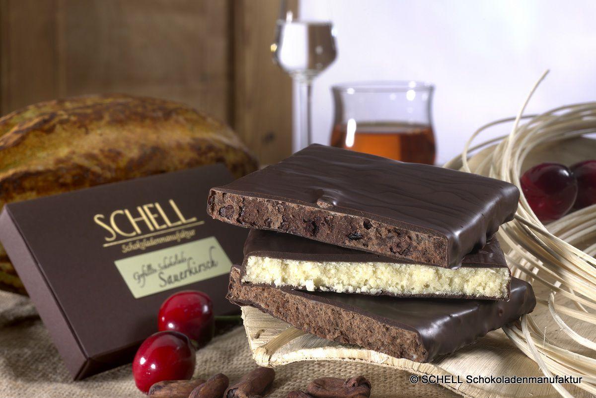 Schokolade - der Stoff aus dem die Träume sind! Gefüllte Schokoladen aus der SCHELL Schokoladenmanufaktur