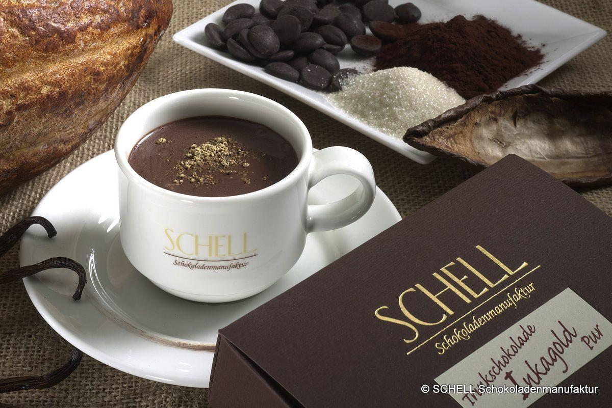 Trinkschokolade aus der SCHELL Schokoladenmanufaktur