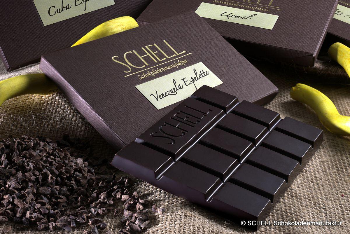 Ganz sicher eine Sünde wert: Edelherbe Schokoladen aus der SCHELL Schokoladenmanufaktur