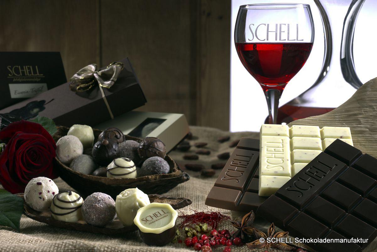 Schokolade und Wein - Genuss für alle Sinne