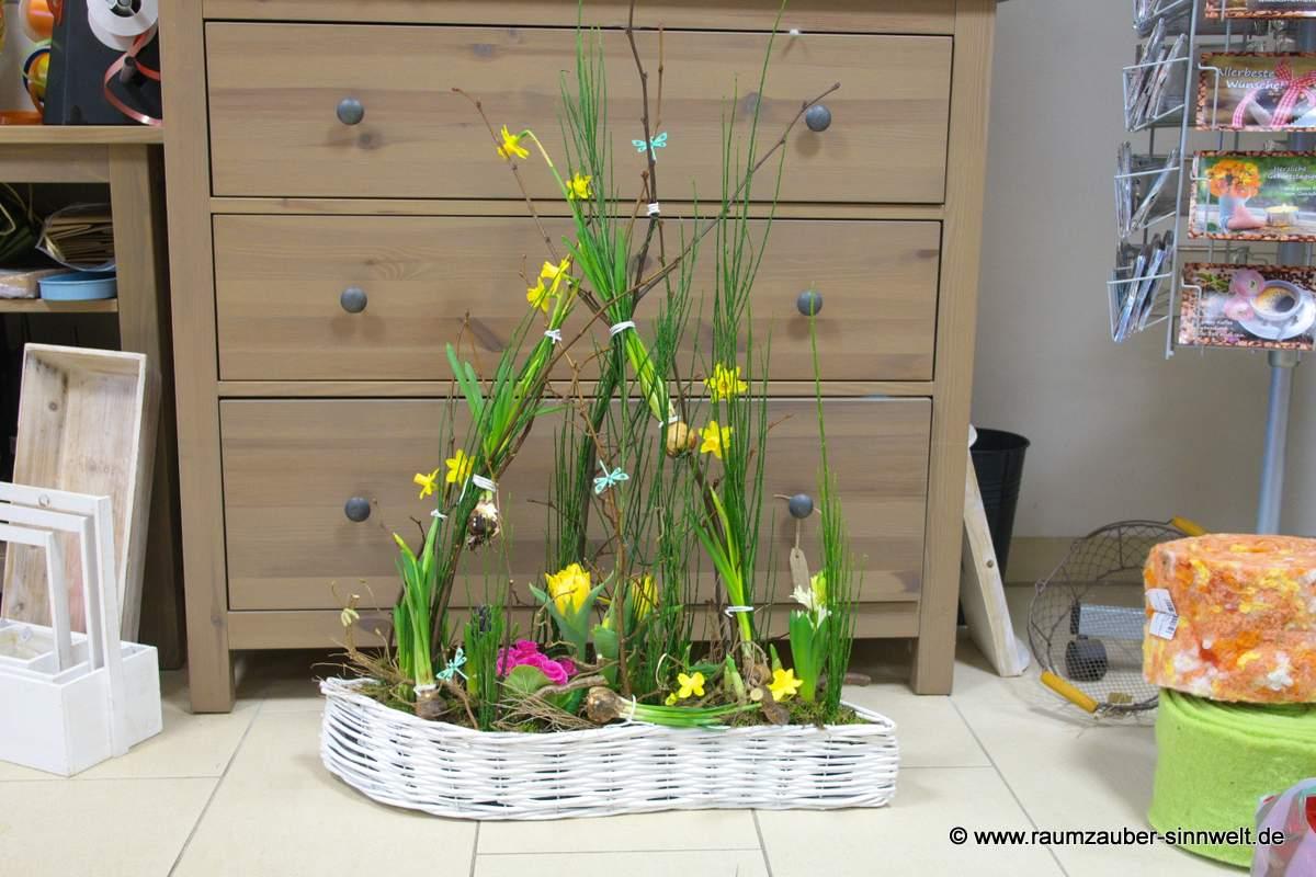 Frühlingseinpflanzung