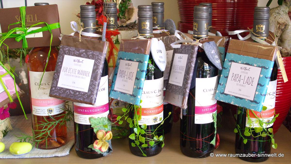 Wein und Schokolade - ein Potpourri der Genüsse