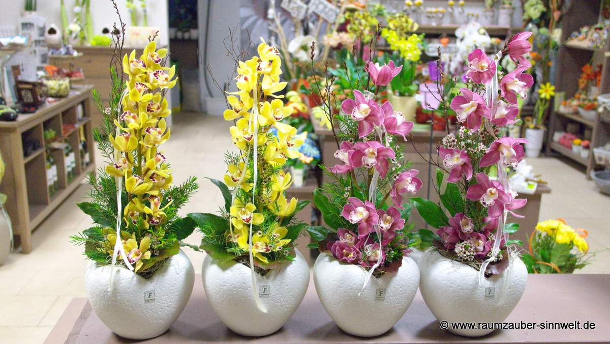 Orchideen mit Herz