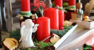 Advent, Advent, ein Lichtlein brennt ... Aber nicht auspusten!