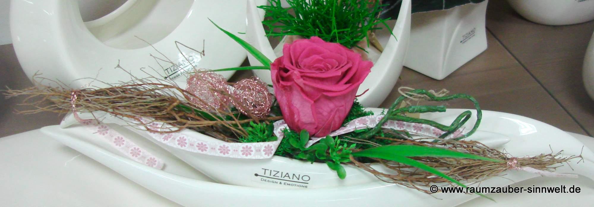 Gefriergetrocknete Rosen - beinahe für die Eweigkeit