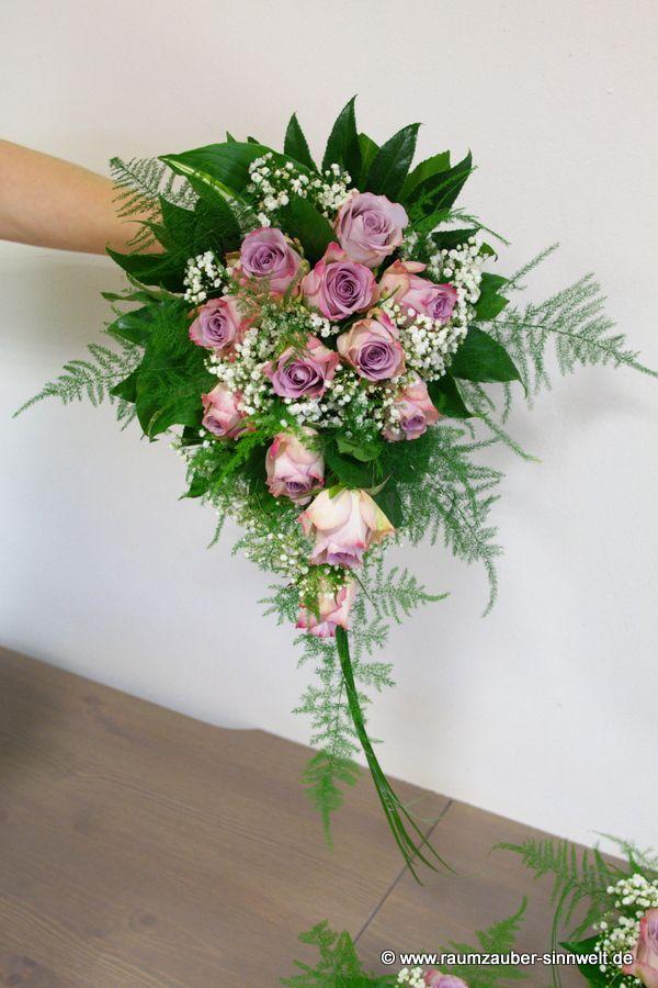 Brautstrauß mit Milka-Rosen
