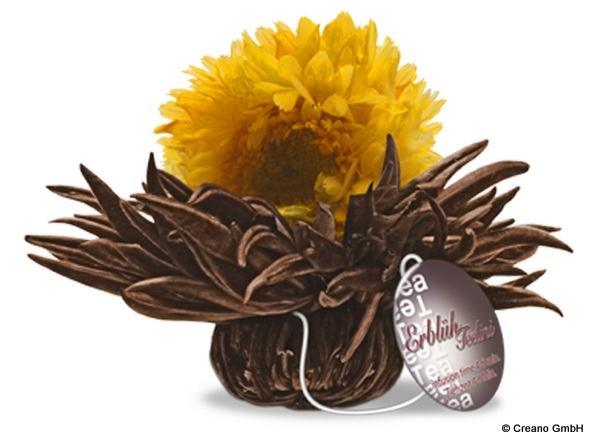 Caramel Shine - Schwarzer Tee mit Ringelblume und Karamell-Aroma