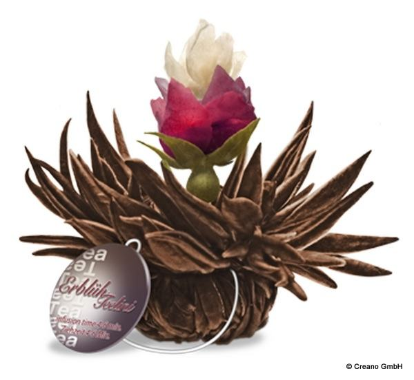 Cherry Pearl - Schwarzer Tee mit Blüten der Rose (Damascena), Jasmin und Kirsch-Aroma