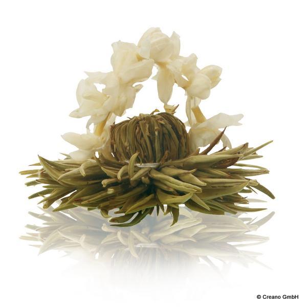 Silberne Hochzeit - Silver-Needle mit Jasminblütenbogen