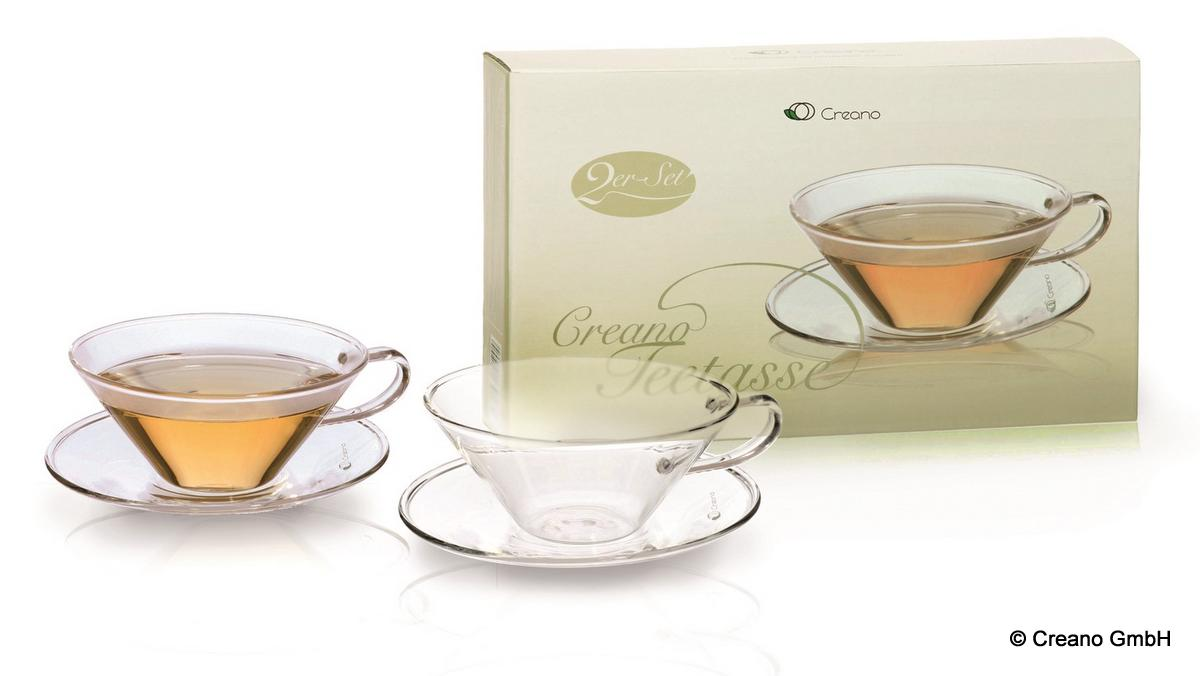 Die Teetasse im exklusiven Zweierset