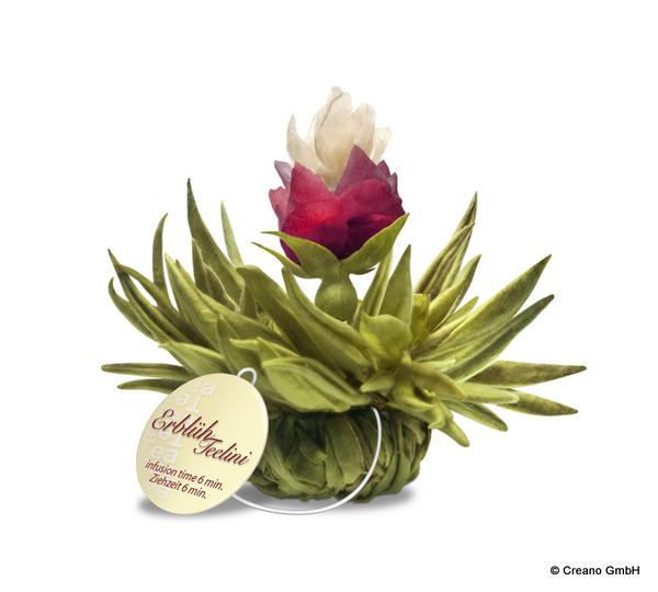 Peach Pearl - Weißer Tee mit Rosenblüten, Jasmin und Pfirsich-Aroma