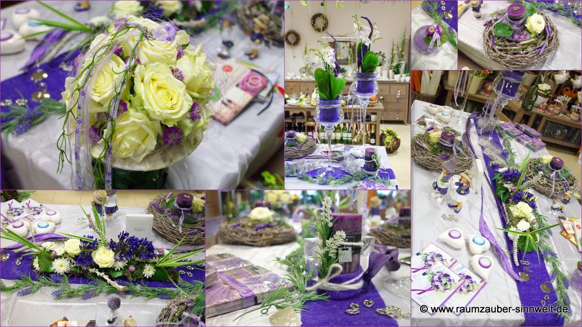 Floraler Augenschmaus in strahlendem Violett
