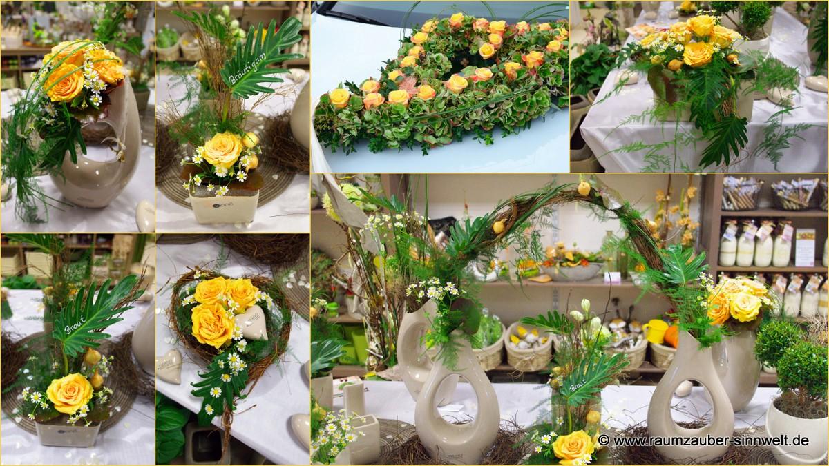 Sonnige Blumendüfte in warmem Gelb