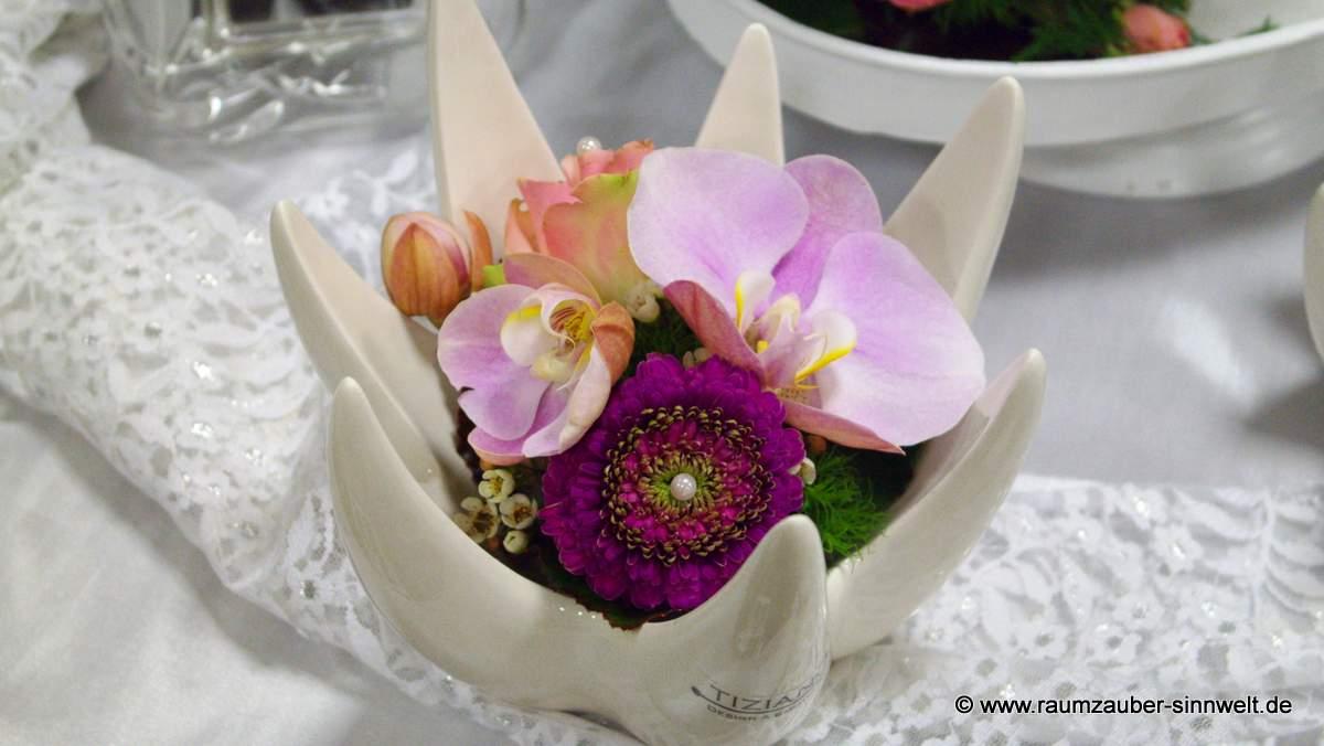Hochzeitsgesteck für das Standesamt