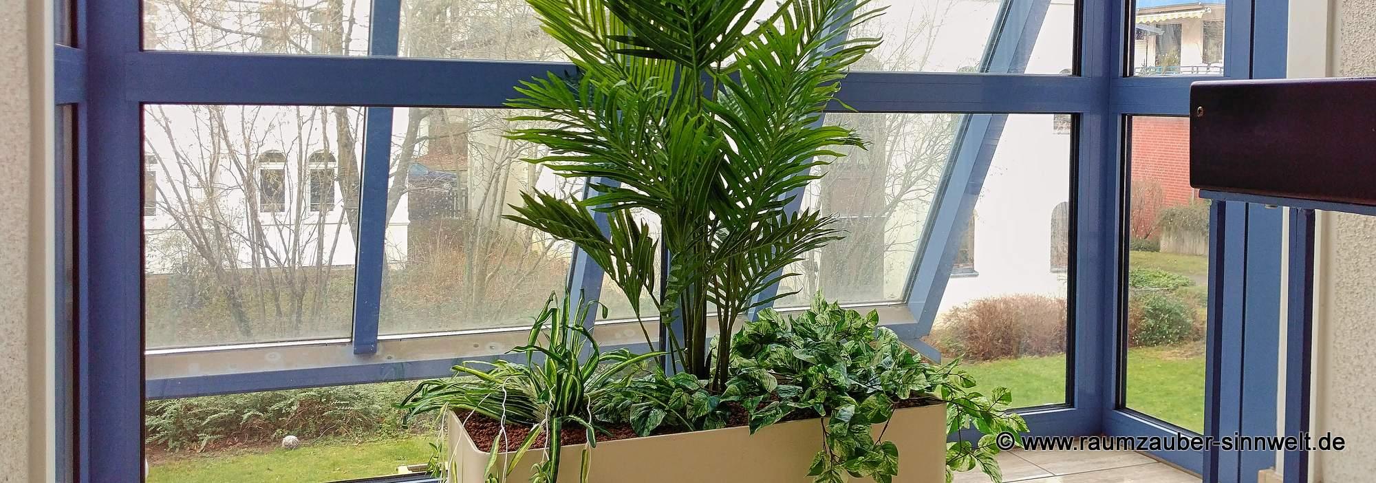 Künstliche Bepflanzungen - die täuschend echt wirkende Alternative für dunkle oder wenig bewohnte Standorte