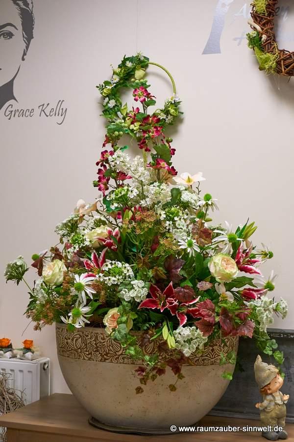 künstliches Blumenbouquet für Anwalts- oder Arztpraxen