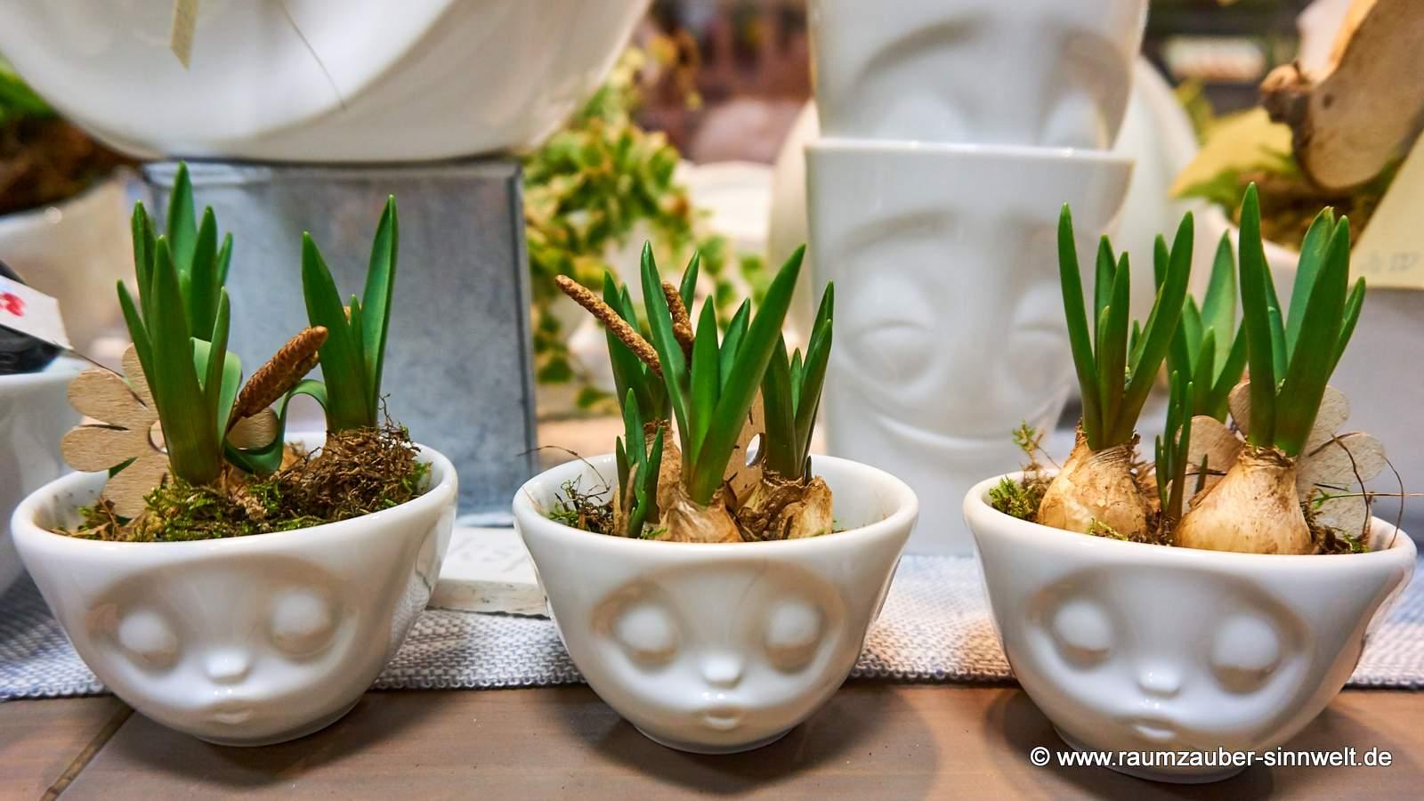 FIFTYEIGHT PRODUCTS Schale küssend mit Pflanzen