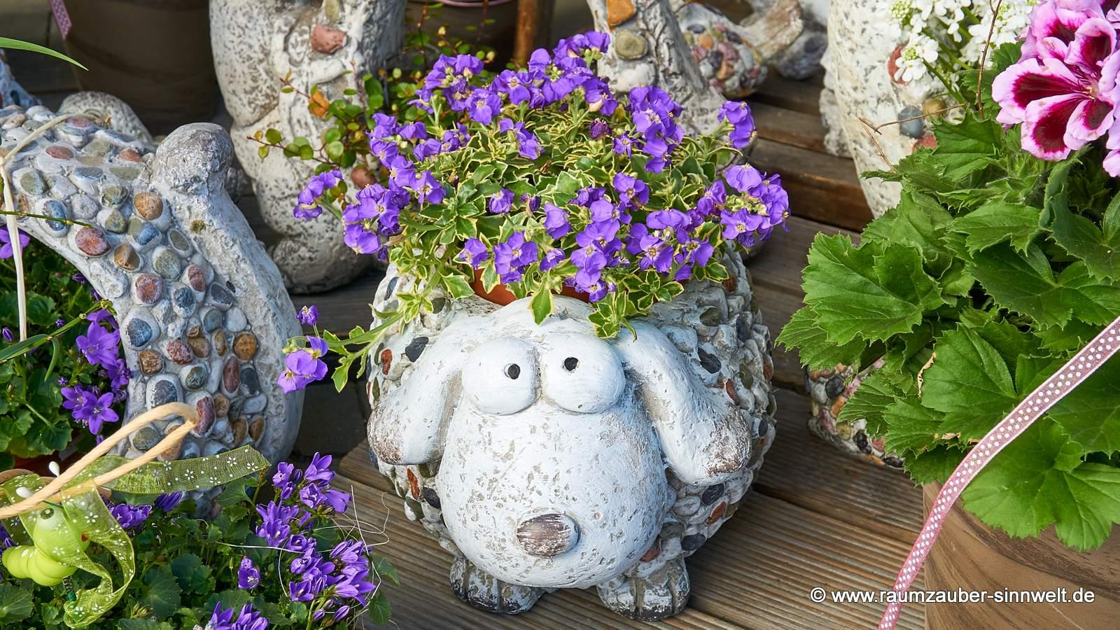 Pflanzkübel Hund Stones von formano