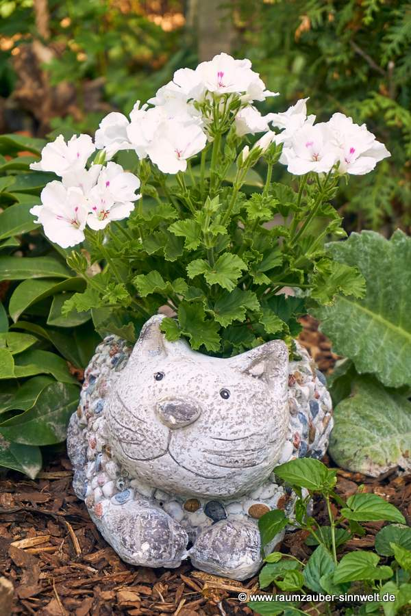 Pflanzkübel Katze Stones von formano