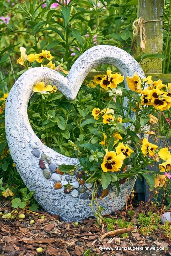 Pflanzkübel Herz Stones von formano