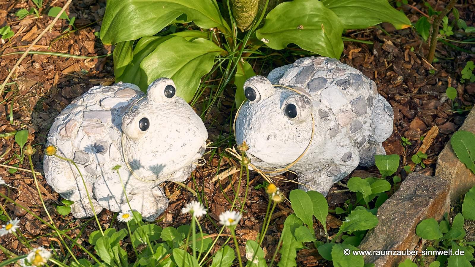 Dekofigur Frosch Stones von formano