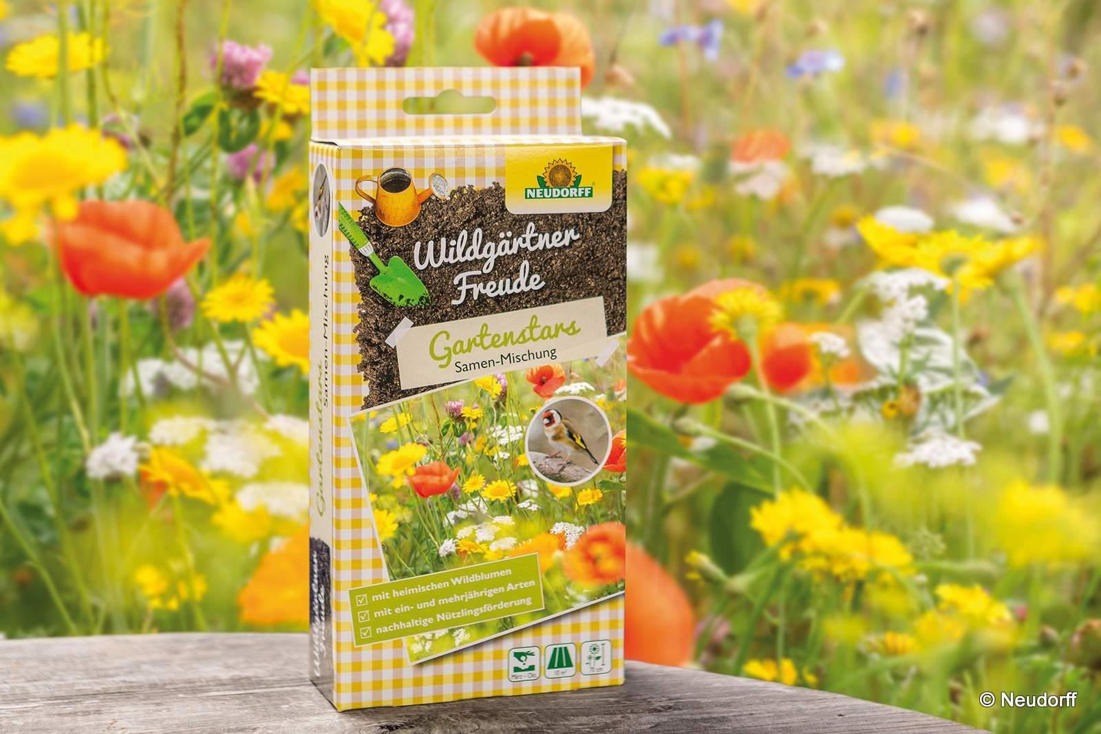 Neudorff Samenmischung Wildgärtnerfreude Gartenstars