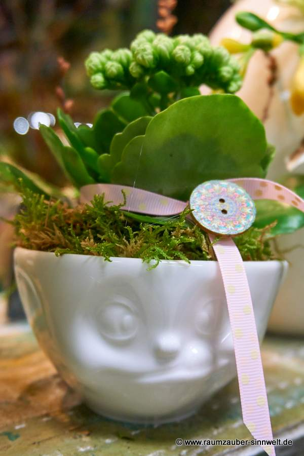 FIFTYEIGHT PRODUCTS Schale lecker mit Kalanchoe.