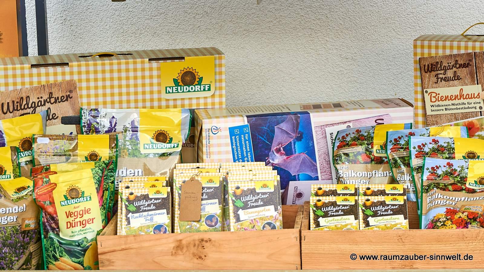 Neudorff Samenmischung Wildgärtnerfreude und Insektenhäuser